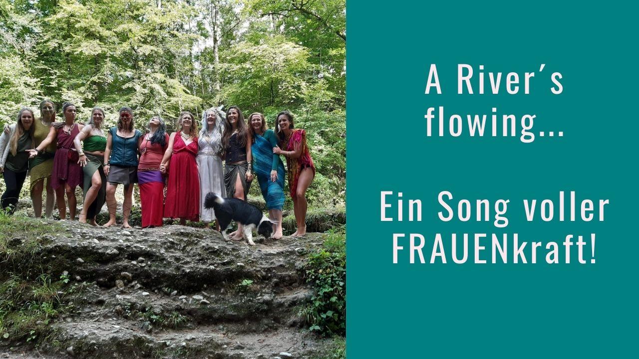 Rivers flowing